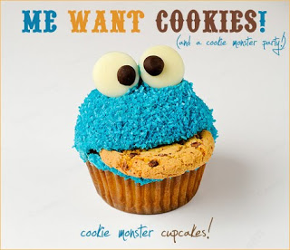 ♥Cookie Monstor Baby Shower DIY Projects♥