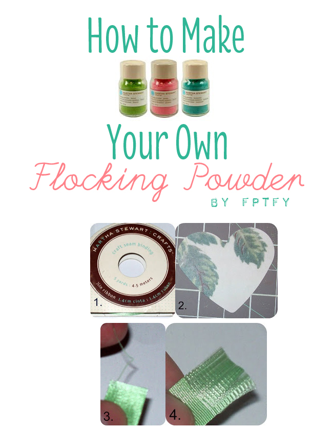 How to Make Your Own Flocking Powder
