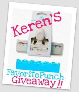 ♥Martha Stewart's Doily Lace Edge Punch GIVEAWAY!!♥Closed!!
