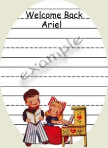 ♥Back to School Vintage Tags♥