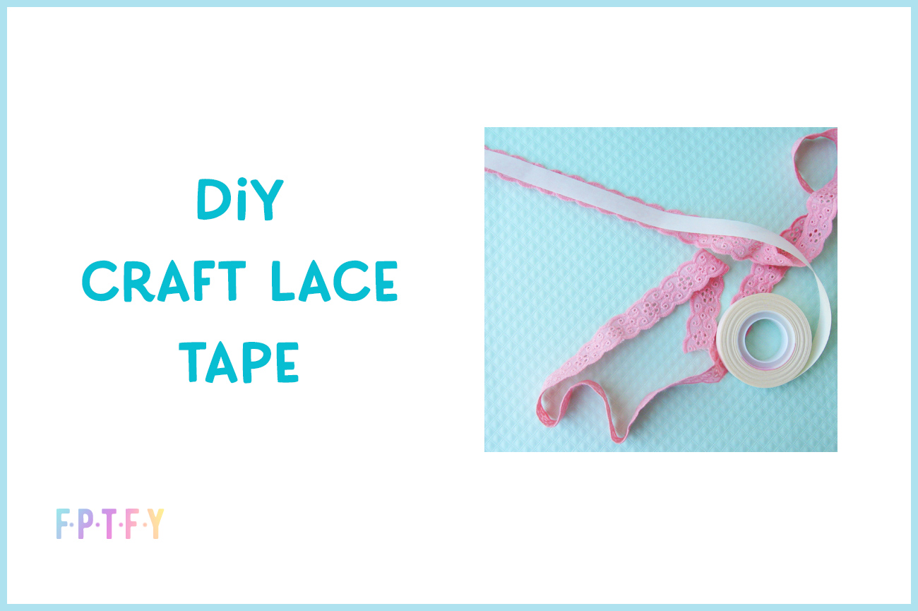 diy craft lace tape