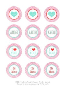 ♥Freebie Image: V-Day Printables ♥