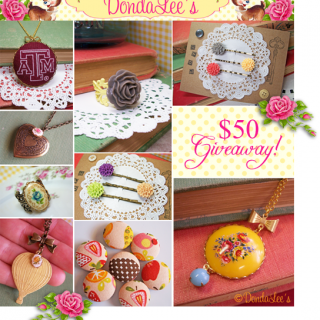 ♥ DondaLee's – $50 Gift Certificate! ♥ CLOSED