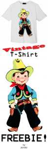 ♥ Freebie Image: Vintage Cowboy! ♥