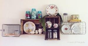 ♥Pretty DIY: Vintage Shelves! ♥