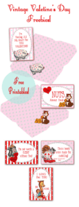 ♥ More Adorable Vintage Valentine's Day Freebies!! ♥