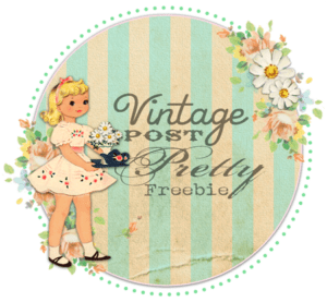 ♥ Freebie Image: Vintage Post Pretty ♥