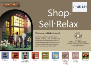 ♥ Ruby Lane: Shop – Sell – Relax ♥