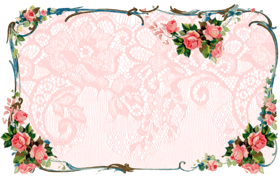 ♥ Freebie Images: Matching Victorian Rose Banner and Facebook ...