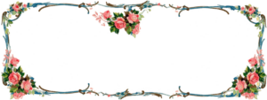 ♥ Freebie Images: Matching Victorian Rose Banner and Facebook Timeline Header ♥