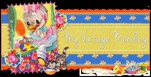 ♥ Guest Blogger: My Vintage Mending ♥