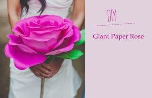 ♥ Pretty DIY: Giant Paper Roses ♥