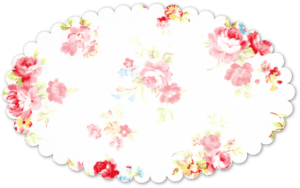 Free Shabby Vintage Rose Ovals