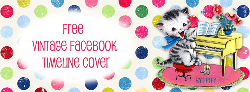Free Colorful Vintage Facebook Timeline Cover - Free Pretty Things ...