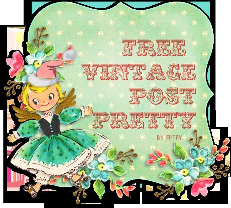 Free Vintage Christmas Post Pretty