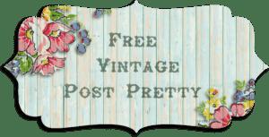 Free Vintage Post Pretty/Blog Banner