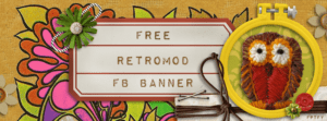 Free Retro Mod Facebook Timeline Banner
