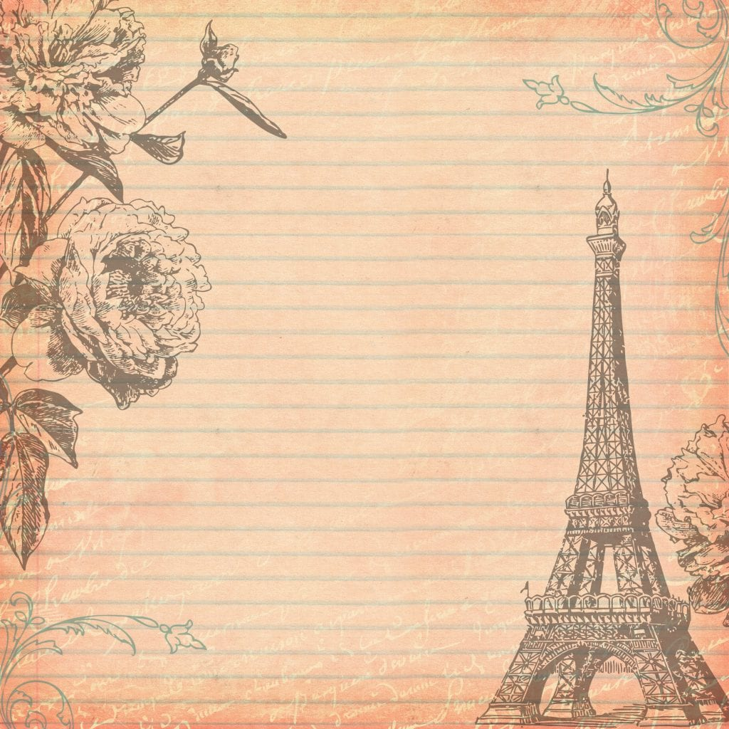 Free Digital Scrapbooking Paper Paris 2 by FPTFY