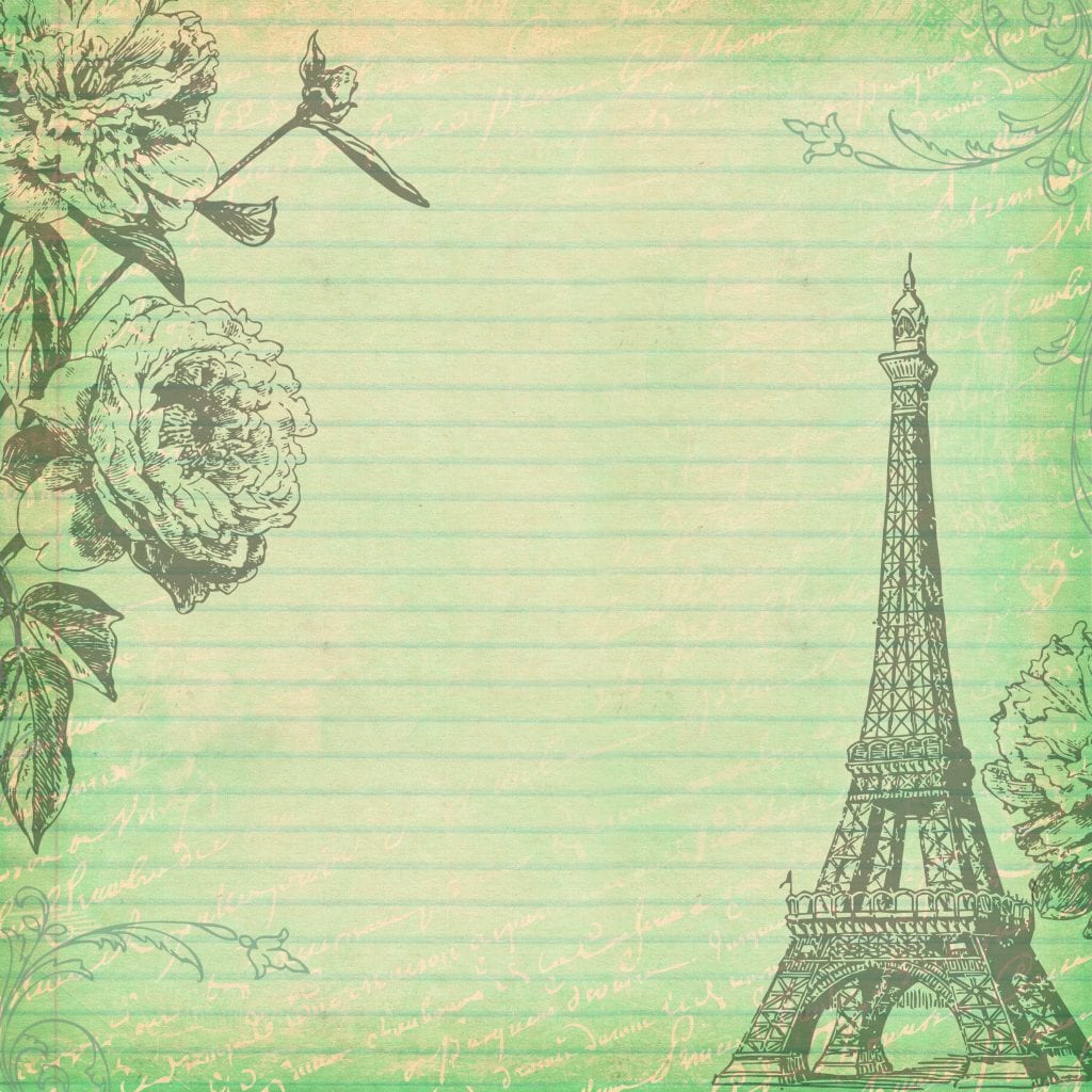 Free Digital Scrapbooking Paper Paris 3 by FPTFY
