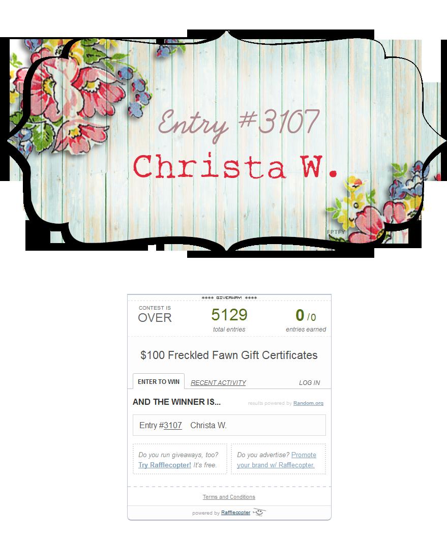 Winner Christa W
