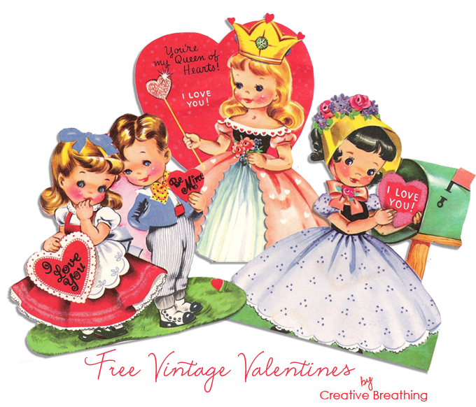 photo about Free Printable Vintage Valentine Cards named Really Do-it-yourself: Common Valentine Wreath + Cost-free Classic