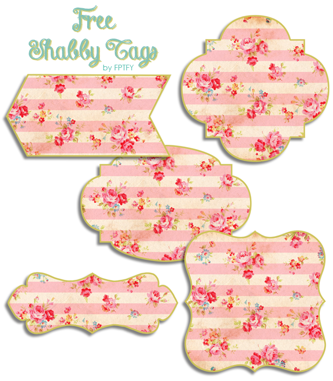 Free Shabby Floral Tags by FPTFY web ex