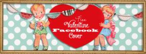 Free Vintage Valentines Day Facebook Timeline Cover