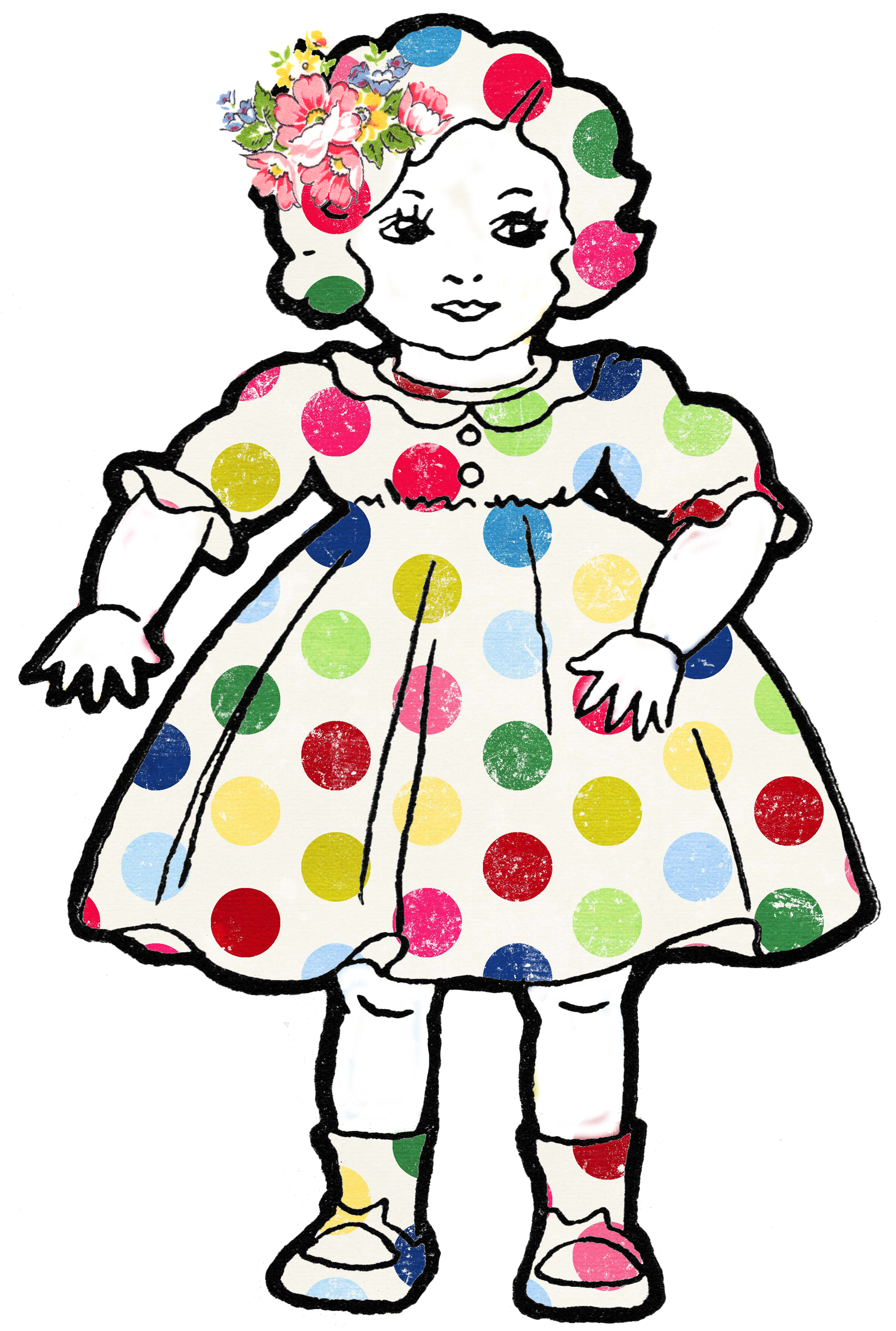 clipart of doll - photo #19