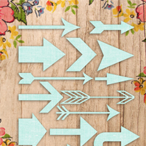 Two Sets of Free Shabby Arrows!