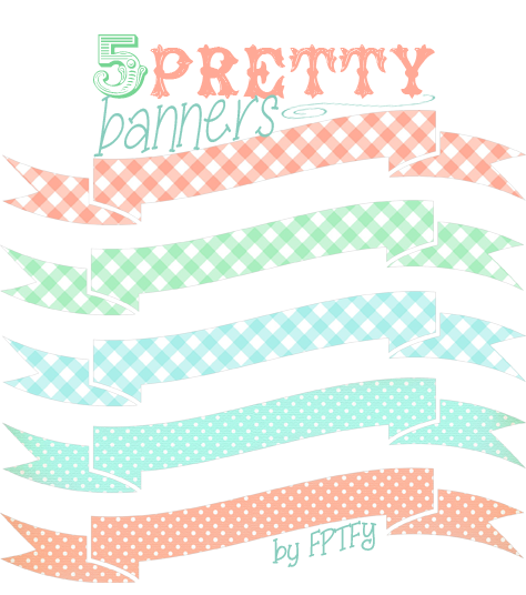 Free Vintage Banners by FPTFY web ex