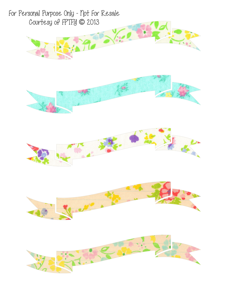 Free Vintage Banners set no 2 by FPTFY