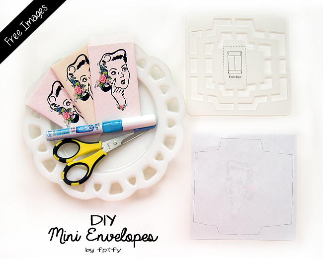 mini envelope template freebies free pretty things for you