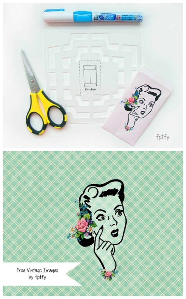 DIY mini envelope by fptfy2