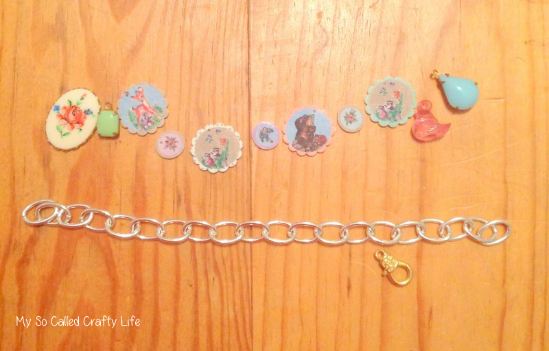 Shrinky Dink DIY vintage charms 11