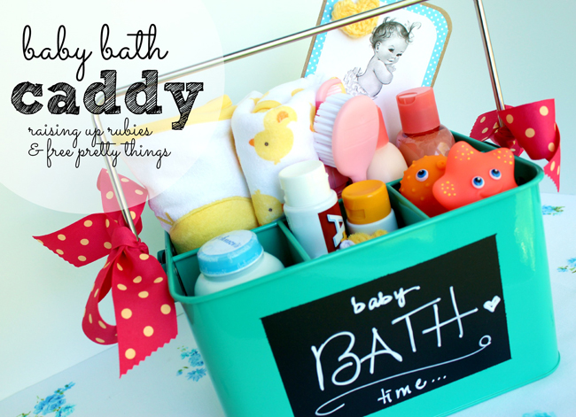 bath caddy for baby GÖÑ raising up rubies & free pretty things