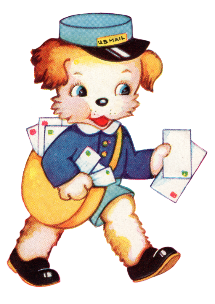 free_vintage_image_puppy_postman_by_fptfy_1