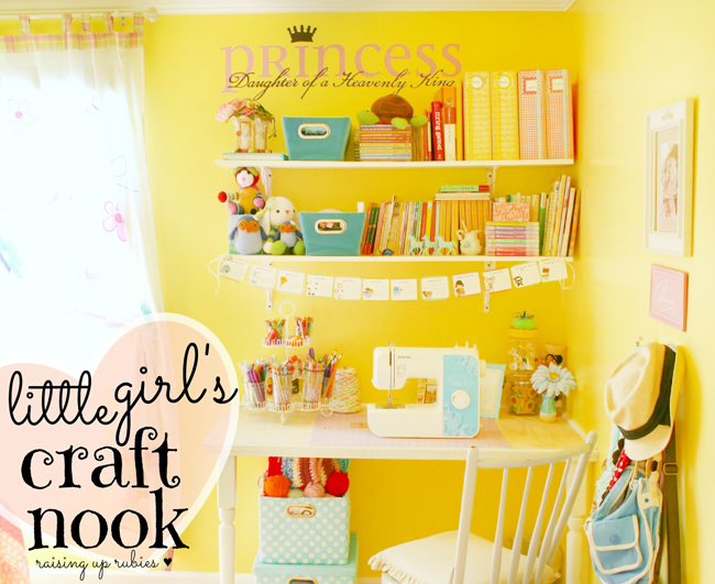 little girls craft nook ♥ raisinguprubies.blogspot.com