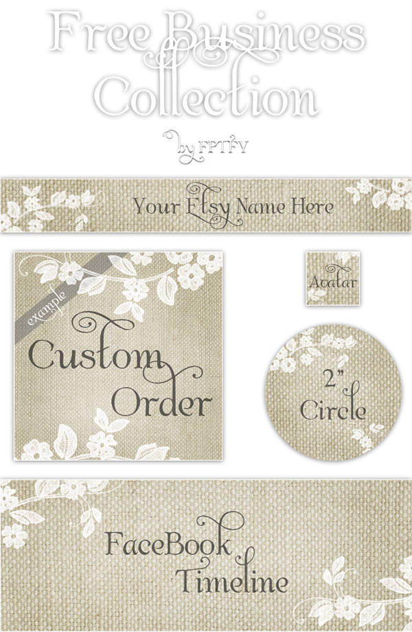 Free Etsy Banner collection by FPTFY web ex