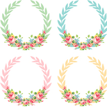 Free_Shabby_Chic_Digital_Wreaths_FPTFY