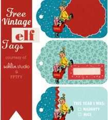 Digital Scrapbook Kit | Santas Workshop + FREEBIES OH MY!!