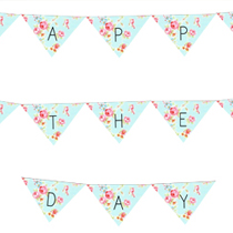 free happy mothers day printable cake bunting