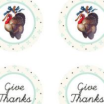 free thanksgiving vintage printables