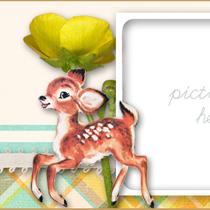 free-vintage-fawn-deer-facebook-timeline-cover