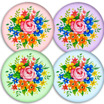 Free Digital Scrapbooking Fabric Covered Buttons no. 2 CU ok!