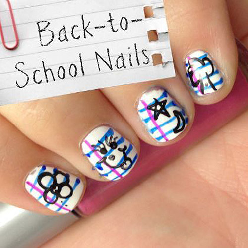 10_ Back-to-School Nails