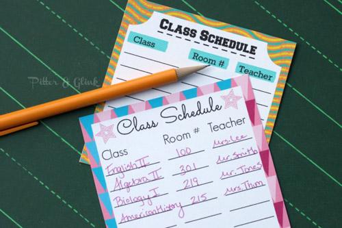 8_ClassSchedule