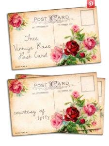 Free-vintage-altered-art-rose-postcards-1-by-fptfy