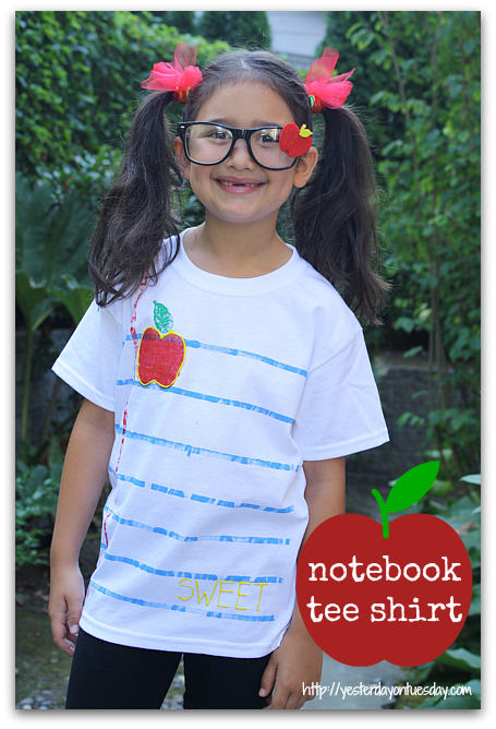 Notebook-Tee-Shirt