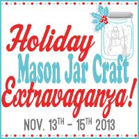 Holiday Mason Jar Craft Extravaganza 2013!