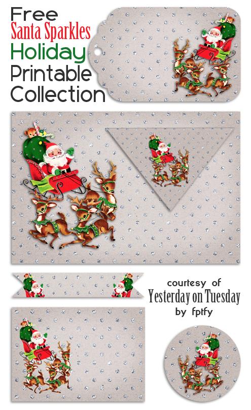 image regarding Free Holiday Printable titled Homemadefacebook addresses